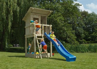 Beach Hut Play Tower